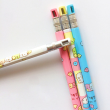 1Pcs Cute Sumikko Gurashi 2.0mm Mechanical Pencil With Sharpener Writing Drawing Pencil School Supply Student Stationery germany staedtler 925 mechanical pencil animation graphics mechanical pencil 0 3 0 5 0 7 0 9 mm 1pcs