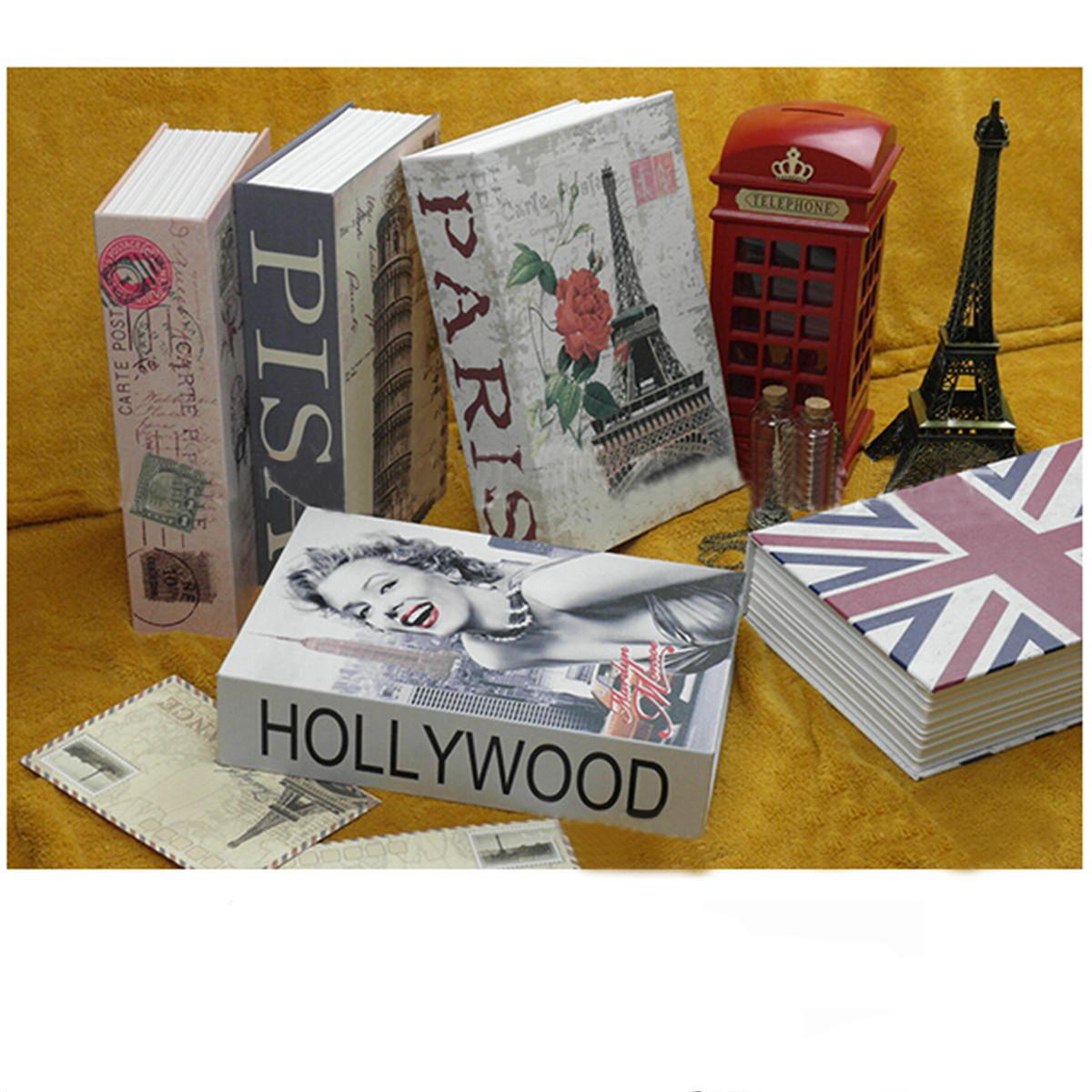 Security Mini Dictionary Safe Box Book Money Hide Secret Security Safe Lock Cash Money Coin Storage Jewelry Key Locker Kids Gift
