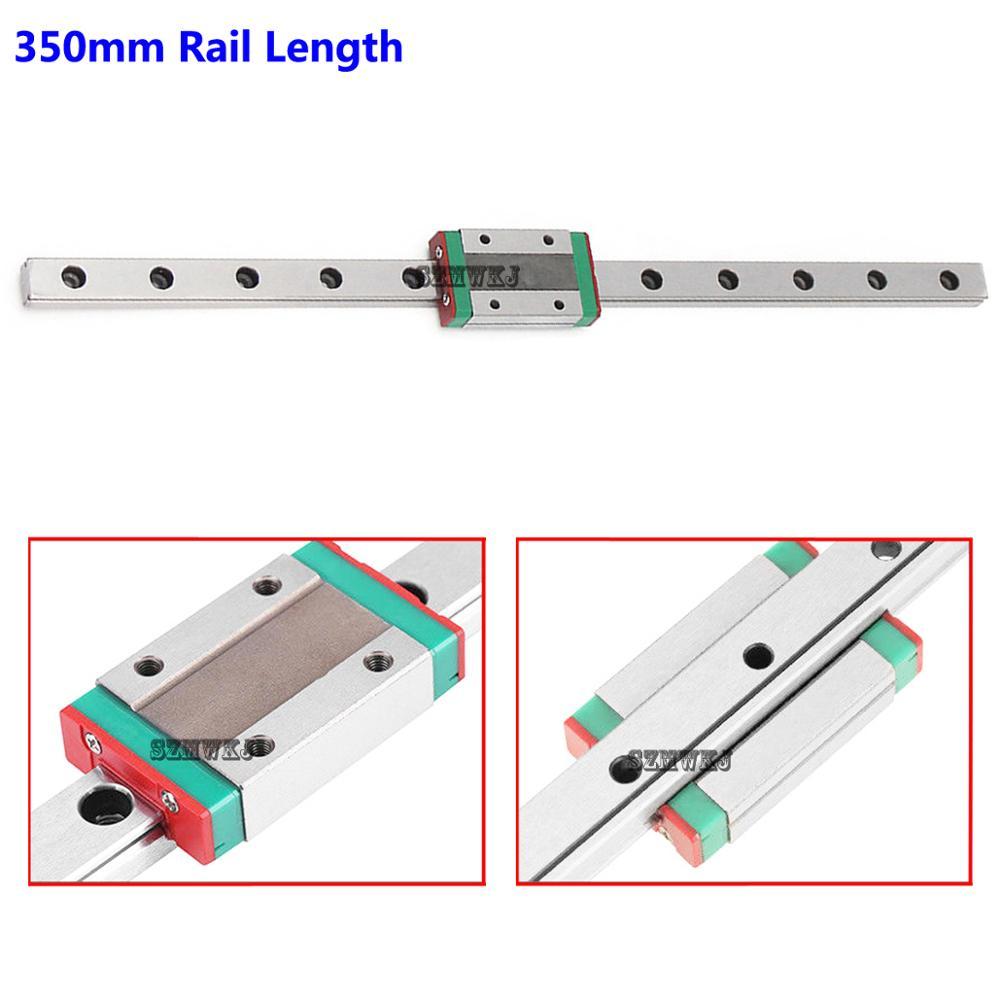 MGN12H Sliding Block DIY CNC 3D Printer 12mm Miniature Linear Slide Rail Guide