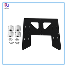 цены 3D printing parts Prusa i3 Anet A8 A6 Z axis hot bed support plate with 4pcs sc8uu sliders kit for  Prusa I3 Anet A8 3D Printers