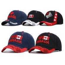 Новое поступление бейсбольная кепка канадский флаг вышивка snapback