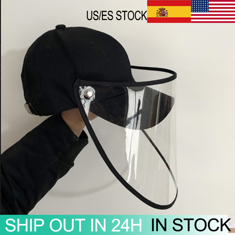 Adjustable Protective Cap Coronary Protective Hat Eye Protection Windproof Hat Men And Women Isolation Face Cover Cap