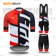 Mans Pro Team Cycling Jersey set Maillot Ropa Ciclismo Cycling Bicycle Clothing Bib Shorts MTB Bike Clothes Uniform Cycling Set crossrider 2018 pro team france cycling jersey men short cycling uniform set ropa ciclismo bicycle wear clothing maillot culotte