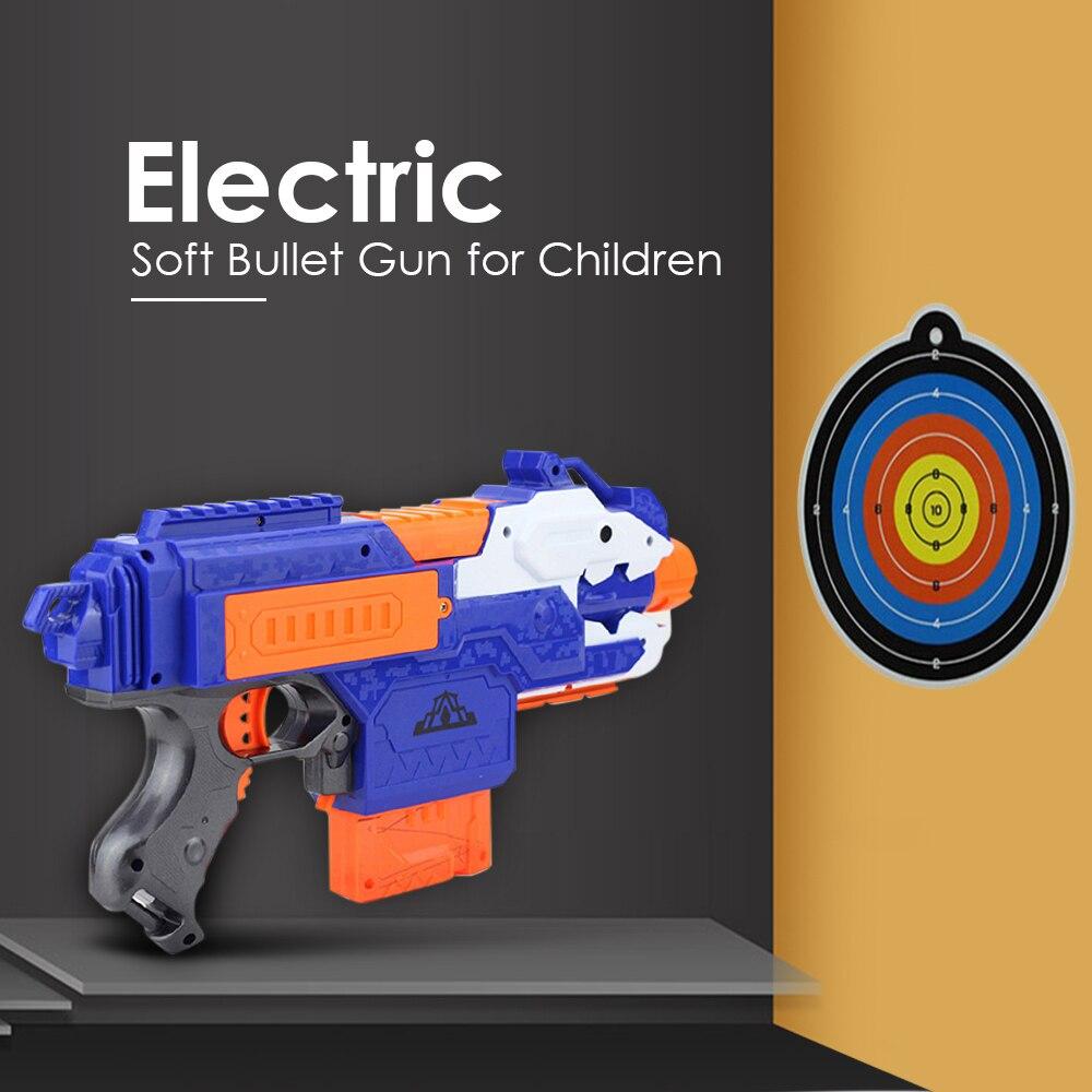 الكهربائية رصاصة طرية مسدس لعبة مسدس قناص بندقية البلاستيك بندقية Arme Arma لعبة للأطفال هدية مثالية مناسبة ل Nerf مسدس لعبة