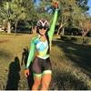 2020 pro equipe triathlon terno feminino camisa de ciclismo skinsuit macacão maillot ciclismo roupas ropa ciclismo conjunto rosa almofada gel 6