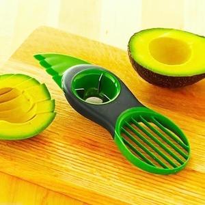 3 in 1 Plastic Avocado Slicer