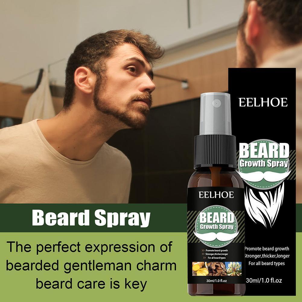40ml Beard Growth Oil Natural Accelerate  Hair Hair Enhancer Grow Beard Beard Oil Nourishing Essential And O4K6