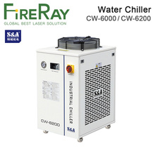 FireRay S&A CW-6000AH CW-6200AH CW-6200BI Industry Air Water Chiller use for 300W 600W Co2 Glass Laser Tube Water Chillers reci chiller cw 3000 cw 5200 water pump p2430 25w dc 24v flow rate 8 5l min