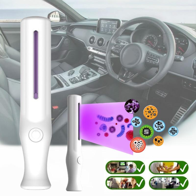 Portable UV Bactericidal Lamp Pet Disinfection Lamp Ozone Sterilizer Light Home Kill Mite Sterilization Ultraviolet Tube Lamps