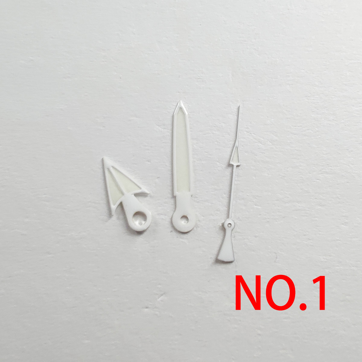 Watch Accessories Watch Pointer NH35 Pointer White Pointer Green Super Luminous, Suitable For NH35, NH36 Movement b001