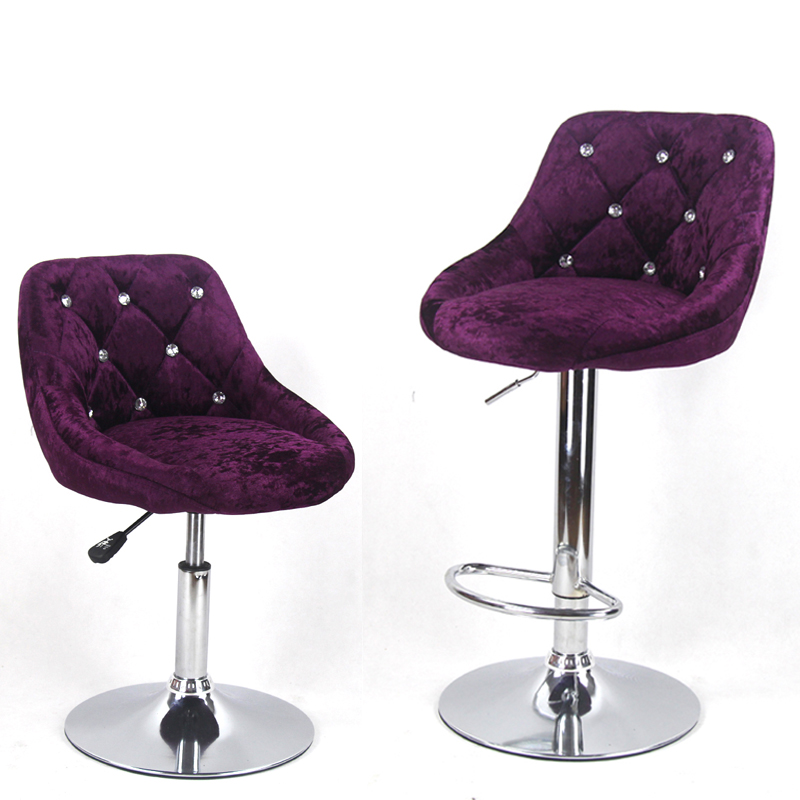 European Bar Stool Chair Lift Swivel    Beauty Dressing Backrest Dining  Makeup Artist Sgabelli Bar Stool
