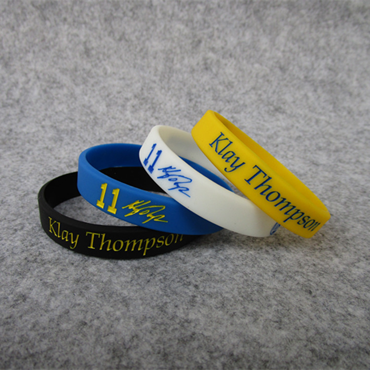 Klay Thompson Bracelet Warriors Bracelet Sports Bracelet Silica Gel Basketball Bracelet All-Star Wrist Strap