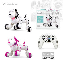 Birthday Gift RC zoomer dog 2.4G Wireless Remote Control Smart Dog Electronic Pet Educational Children's Toy Robot toys(China)