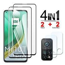 Gehärtetem Glas für Xiaomi Mi 10t Pro 5G Schutz Glas Screen Protector Xiao Mi 10 10T Lite 5G Kamera Objektiv Mi10i 5G Safty Film