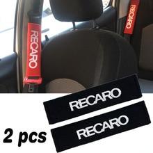 Paire de ceinture de sécurité pour voiture, housse de siège de voiture, housse de coussin, housse de protection avec les épaules