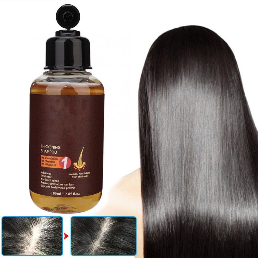 Herbal Shampoo Hair Care Essence Care Prevention Hair Loss Massage Nourishing Promote Growth Shampoo Hair Care 100ml