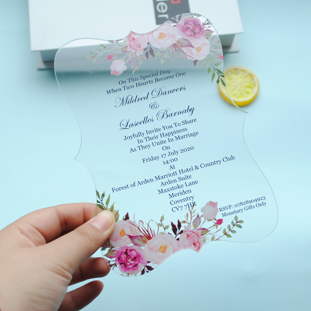 A4 Transparent Paper Vellum Flowers Leaves Butterfly Invitations /& Cards Making