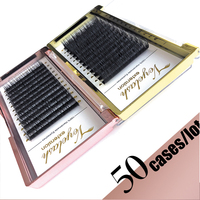 Viplash 50 cases/lot Eyelash Extension Maquiagem Mink Eyelashes 12 Rows Individual Eyelash Premium Mink Lashes Maquillaje Cilios