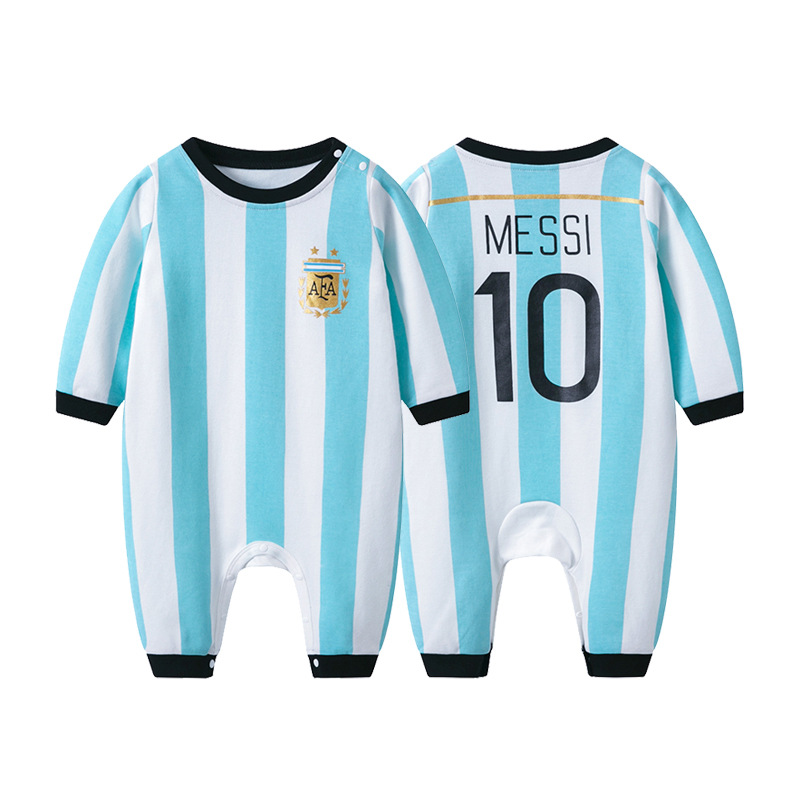 Tolo Rabbit 2019 Autumn New Style Children Ball Uniform Long-sleeve Jumpsuit 0-3 Years Old Baby Football Long Sleeve Crawling Cl