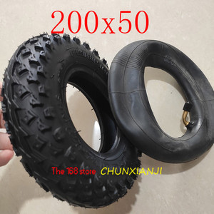 """Image 3 - High Quality (8"""" X 2"""") 200X50 (8 Inch)Tire Fit for Electric Gas Scooter & Electric Scooter(inner Tube Included) Wheelchair Wheel"""