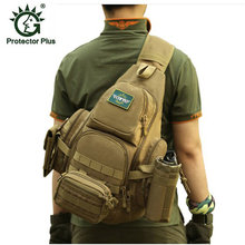 Best-selling Military female Men Bag Chest Sling Pack A4 One