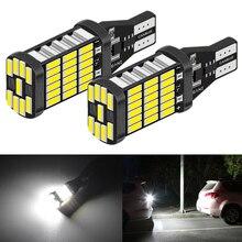 2 bombillas LED Canbus T16 T15 921 W16W, luces de marcha atrás de coche para Hyundai Tucson 2017, Creta Kona IX35, Solaris Accent I30 Elantra