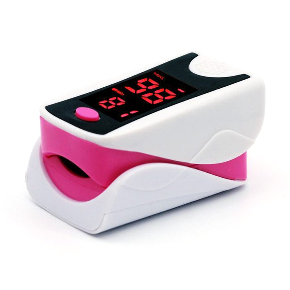 Display Finger Fingertip Blood Pulse Oximeter Medical Heart Rate Monitor Fingertip Pulse Oximeter Portable