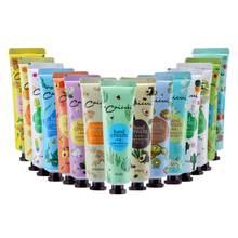 Mini hidratante planta extrato fragrância creme mão massagem loção reparação anti-rachamento alta qualidade nutritivo tslm1