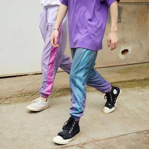 Image 4 - 2020 Hip Hop Joggers Pants Gradient Color Streetwear Men Harajuku Sweatpants Casual Autumn Track Pant Soft HipHop Harem Trousers