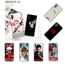 NBDRUICAI TV Show Dexter Morgan TPU black Phone Case Cover Hull for Samsung Note 3 4 5 7 8 9 10 pro M10 20 30(China)