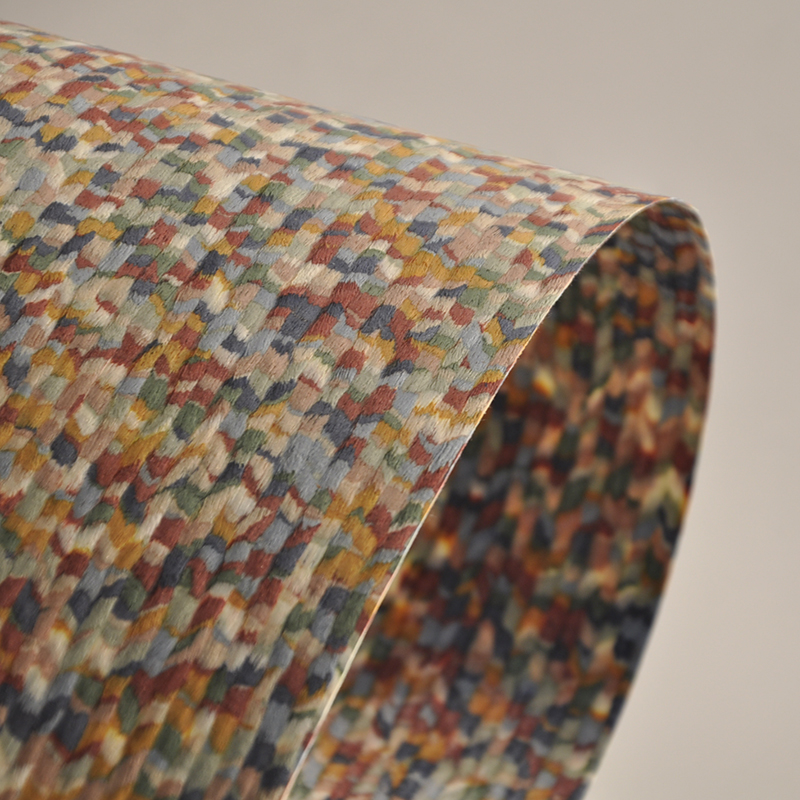 2020 New Artificial Wood Veneer Design For Jewel Box