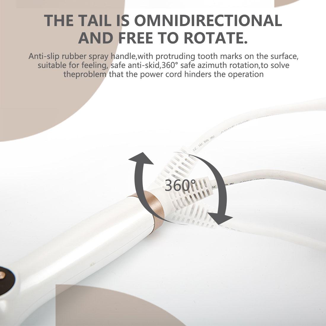 Modelador de cabelo elétrico cerâmica curling ferro