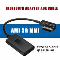 AMI MMI Bluetooth Adapter Aux Cable Audio Radio For Audi Q5 A5 A7 S5 Q7 A4 A6 A8