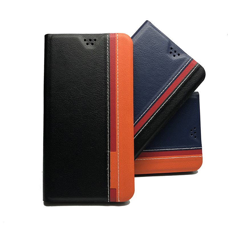 Luxury PU Leather Flip Case For <font><b>Homtom</b></font> HT16 HT <font><b>16</b></font> 5.0 inch Wallet Stand Leather Case Cover On <font><b>Homtom</b></font> HT16 5.0 inch image