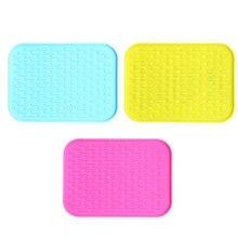 Практичные силиконовые Нескользящие термостойкие горшок циновка таблицы Кухня посуда