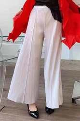 Miyake Pleated wide-leg casual fashion casual pants free shipping