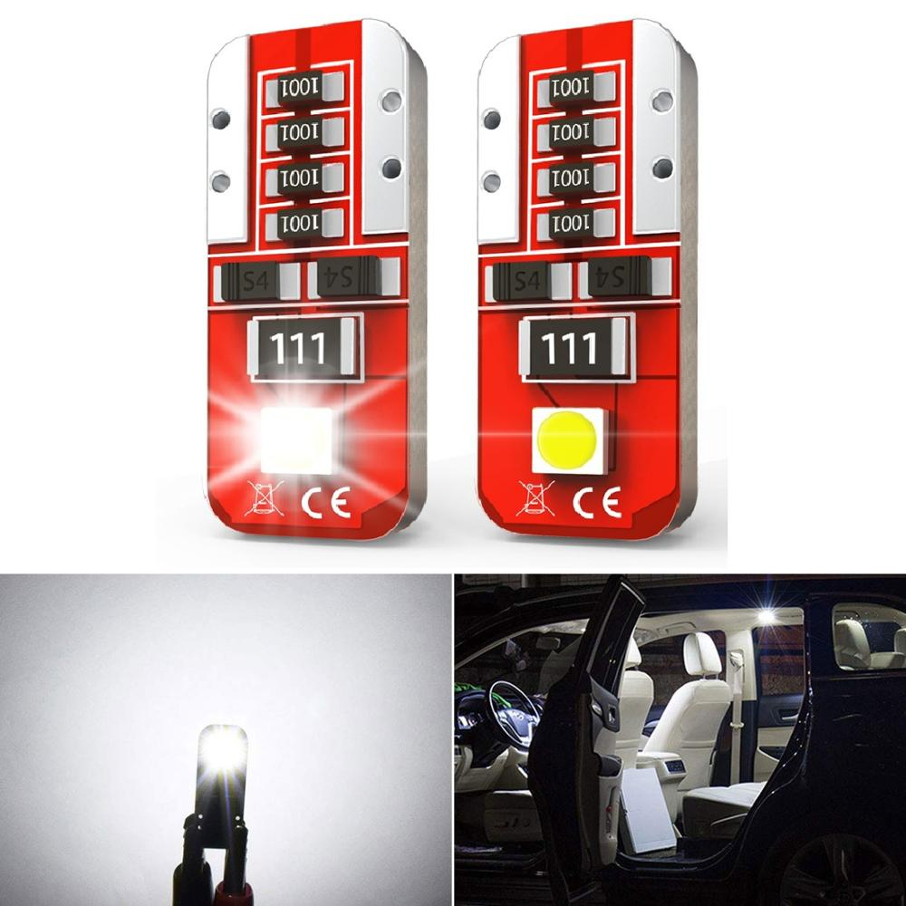 2Pcs W5W T10 <font><b>LED</b></font> Canbus Light <font><b>Bulbs</b></font> Car <font><b>Interior</b></font> Dome Light Trunk Lamp For <font><b>BMW</b></font> E46 E90 <font><b>E60</b></font> E39 E36 F30 F10 F20 F25 E30 E34 E53 image
