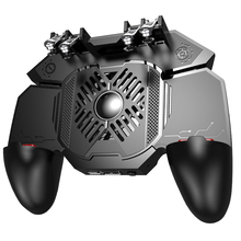 New PUBG Gamepad Grip With Portable Charger Cooling Fan For PUBG Mobile Controll