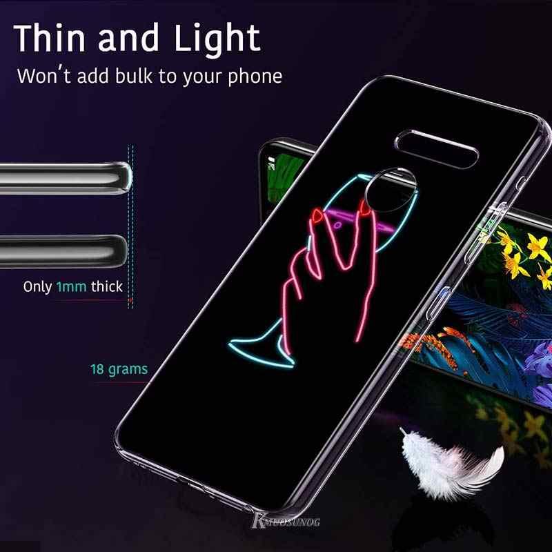 Paar König und Königin Kronen Stil für LG W20 W10 V50S V50 V40 V30 K50S K40S K30 K20 Q60 Q8 q7 Q6 G8 G7 G6 ThinQ Telefon Fall