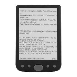 6 inch E-Ink Ebook Reader Reso