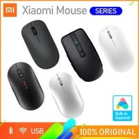 Xiaomi Wireless Mouse Lite Wireless Mouse 2 2.4GHz 1000DPI Mi Mini Mouse ottici portatili moda Mouse da gioco per Computer