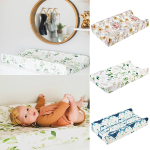 Baby Changing Diaper Pad Cover Mat Infant Soft Reusable Removable touching massage bed cloth Breathable Baby Bed Mattress Covers