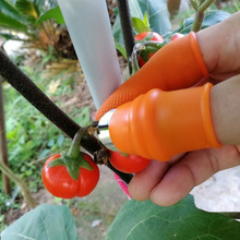 Silicon Thumb Cutter Separator Finger Picking Device Garden Harvesting