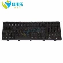 Клавиатура ovy ui с подсветкой для hp probook 470 450 g0 g1
