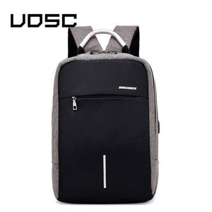 Image 2 - UOSC Männer Multifunktions Anti Diebstahl Rucksack 2019 Neue USB Lade Rucksäcke Wasserdichte Schul Business Reisetaschen