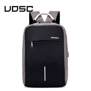 Image 2 - UOSC Men Multifunction Anti Theft Backpack  2019 New USB Charging Backpacks Waterproof Schoolbag Business Travel Bags