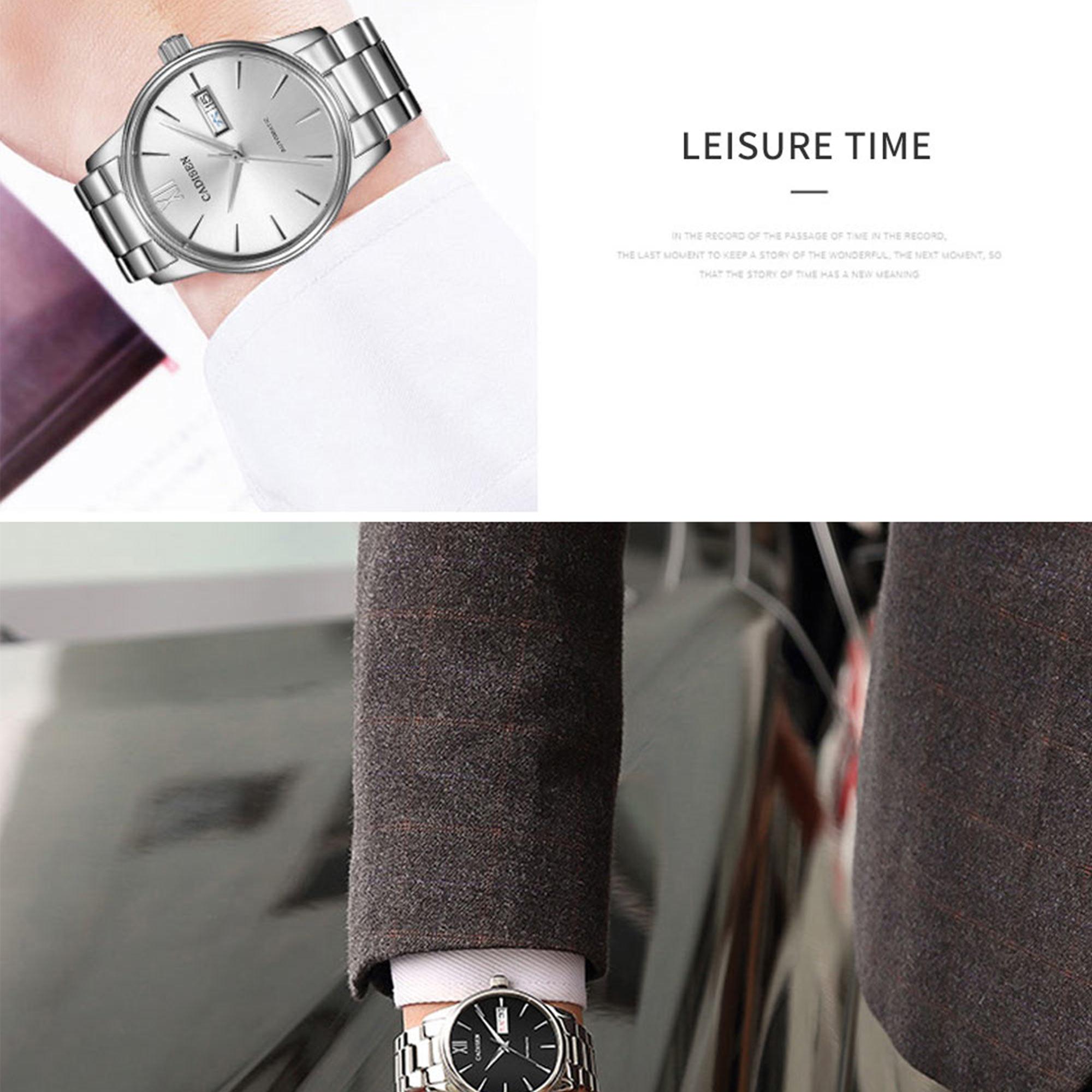 He1d505efd3b3456cbfef6e4f07f126b6X CADISEN Men Watch Automatic Mechanical Watches Role Date Week Top Luxury Brand Japan NH36A Wrist watch Clock Relogio Masculino