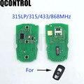 QCONTROL автомобильный пульт дистанционного управления смарт-ключ печатная плата для BMW CAS3 X5 X6 Z4 1/3/5/7 серия БЕСКЛЮЧЕВОЙ передатчик доступа