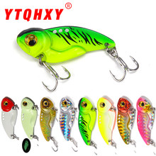 8g 15g 20g VIB Lures Luminous Metal Vibrations Artificial Hard Fishing Bait Bass Cicada lure Long shot 3D Eyes(China)