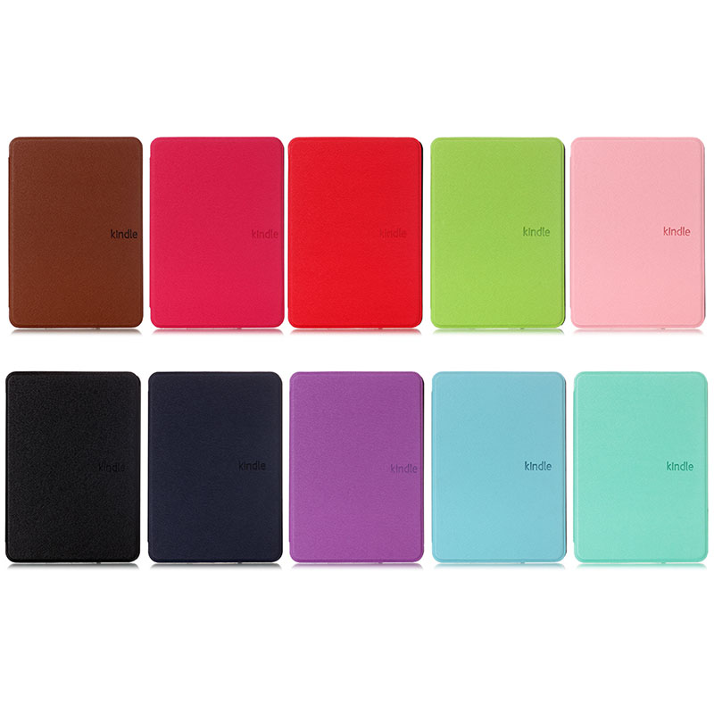 Folding Smart E-book Folding Case For Amazon Kindle Paperwhite 4 Cover 2018 10 Generation Magnetic Shell Ebook Protective Case